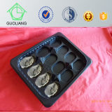 2015 Selling quente Black PP Disposable Plastic Oyster Tray Popular em Ingleses, E.U., Austrália Market