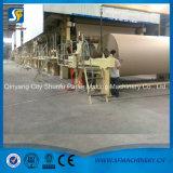 クラフト紙のためのSf 1880mmブラウンクラフト紙の圧延製造所の製造業機械