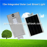 réverbère Integrated de détecteur solaire de 5W-120W DEL avec le système à télécommande d'appareil-photo