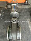 JIS 10k Vanne de porte pneumatique Dn300 (Z641Y-DN300-10K)