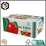 Rectángulo de empaquetado acanalado de la legumbre de fruta fresca