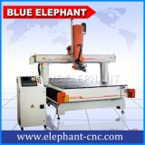 Ele 2050 Machine de découpe de bois d'Atc, machine CNC 4 axes de travail du bois pour les armoires de cuisine de décisions