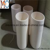 Creusets en céramique cylindrique de matière première de la température élevée Al2O3