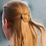 De gouden-Kleur van de manier om de Juwelen van het Haar van de Haarspelden van het Metaal van de Klem van het Haar