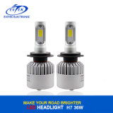 새로운 디자인 자동 LED 맨 위 빛 72W 8000lm Canbus Bridgelux 옥수수 속 S2 H7 LED 헤드라이트 6500K