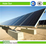 지상 나사를 가진 태양 전지판 장착 브래킷