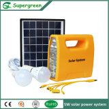 солнечный набор освещения электрической системы 1W DC 5W солнечный домашний