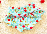 Baby Girl Cherry Print Bikini, Lovely Swimming Skirt