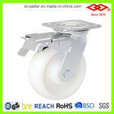 White PP Heavy Duty Caster (D701-30D125X50)