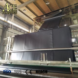 6 mètres de 0.2mm-5mm géomembrane HDPE pour chemise de réservoir d'eau circulaire