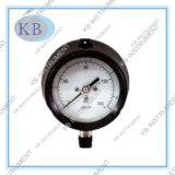 Manomètre d'indicateur de pression de processus de caisse de polypropylène
