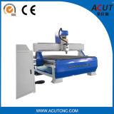 Máquina do Woodworking do CNC de 3 linhas centrais para a mobília com vácuo