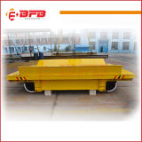 企業の工場(KPJ-30T)のためのダンプ装置が付いているモーターを備えられた柵のトロリー