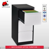 Estrutura Anti-Tilt mobiliário de escritório Metal gaveta 3 Armário para armazenamento de arquivos
