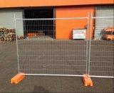 Clôture provisoire de construction de frontière de sécurité amovible de l'Australie