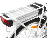 vélo électrique de moteur de manivelle d'entraînement de Madame MID de ville du femme 700c avec la qualité