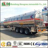 45000 van de Brandstof liter van de Aanhangwagen van de Tanker, De Tanks van de Brandstof van het Aluminium van de Vrachtwagen van de Olietanker