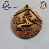 3D Matrijs Gegoten Medaille met Antiek Brons eindigt