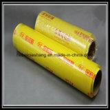 PE película de estiramiento, PVC Plástico Transparente