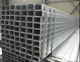 Rechteckiges Stahlrohr des milden Kohlenstoff-Q235/galvanisiertes Stahlgefäß