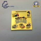 Medaglia su ordinazione di sport del Taekwon-Do con rivestimento dell'oro