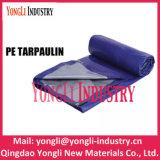 PE ou de tissu tissé bleu Rouleau de toile de bâche, PE La bâche de protection de la Chine PE Bâche en rouleaux