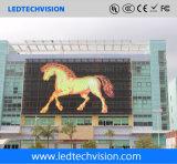 Schermo curvo P16mm di pubblicità esterna LED della tenda