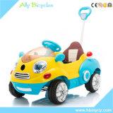 Les véhicules électriques d'oscillation de poussée de dessin animé de véhicule de jouet des enfants à télécommande de véhicule