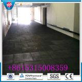 Stuoia di gomma del pavimento per ginnastica di Crossfit di forma fisica del garage del campo da giuoco