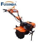 Fg1050, sierpe con la sierpe de dos ruedas, sierpe rotatoria de la potencia de la gasolina de 7HP 4.4kw de la mini de la sierpe del jardín de la sierpe sierpe de la granja