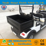 リゾートのための4台のSeatersの小型電池式の標準的な電気ゴルフシャトルのカート