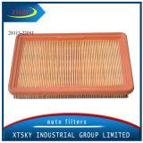 Высокая эффективность PU бумаги 28113-22051 воздушного фильтра