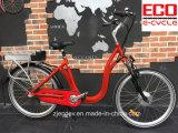Батарея лития и велосипед серии города электрический
