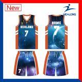 Fazer seu próprio Sublimation personalizado camisas dos uniformes da camisola do basquetebol