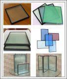 Vidro isolado da vitrificação dobro para a construção