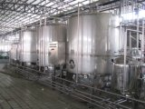 無菌パッケージが付いているフルオートマチック2000L/H Uhtのミルクの製造プラント