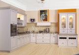 Venda por grosso de madeira maciça de venda quente armário de cozinha #247