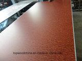 madera contrachapada del recubrimiento del papel del poliester del precio bajo de la alta calidad de 15mm-18m m para el uso de los muebles