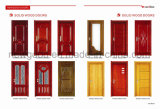 Porte en bois massif de l'intérieur, porte de la salle de bois massif