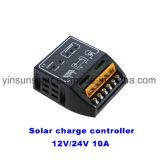 Conecte la batería y el panel solar PWM Solar Charge Controller