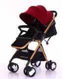 Nuevo Modelo cochecito de bebé Walker soporte portátil del cochecito de niño con errores