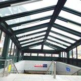 Hochwertiges Stahlschutz-Kabinendach zur Metro, Tiefbauparkplatz, Bahnhof