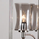 GlasPendant Light mit Nickel Plating (SL2247-3)
