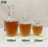 500ml 750 ml Transpora vaso de vino botellas de licor, vodka, whisky, el espíritu