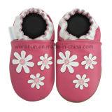 De Schoenen Ty7007 van het Leer van de Baby van bloemen