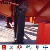3 Aanhangwagen van de Container van Assen BPW 40FT Flatbed Semi