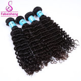 Cheap profundamente el cabello humano sin procesar paquetes de Onda 3 de la Virgen del cabello de Brasil