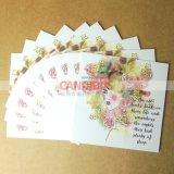 郵便はがきの挨拶状は梳く印刷を感謝する