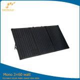 Portable pliant le panneau solaire 180W pour le système domestique