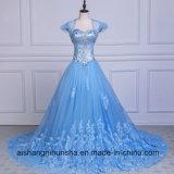 Кристалл a шнурка Tulle Beaded - линия платье вечера lhbim официально